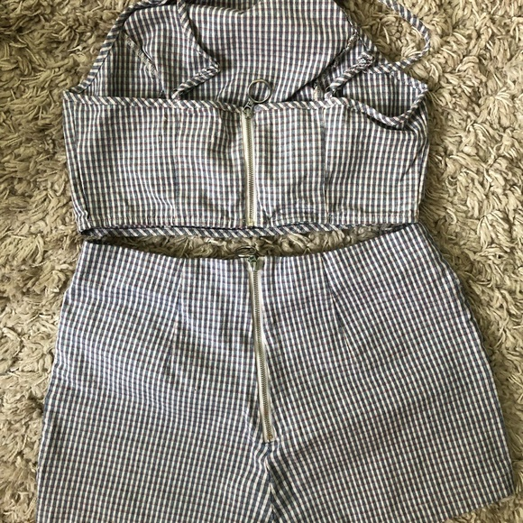 Urban Outfitters Tops - Plaid Matching set